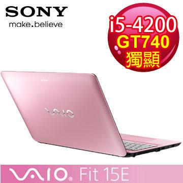 【福利品】SONY VAIO  四代i5獨顯觸控筆電◆2014最新款