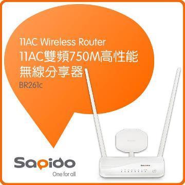 Sapido BR261c 高性能無線分享器
