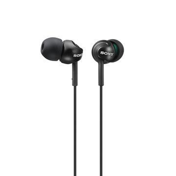 SONY MDR-EX110LP入耳式耳機-黑