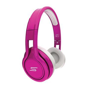 SMS Street On-Ear Wired耳罩式耳機-粉紅