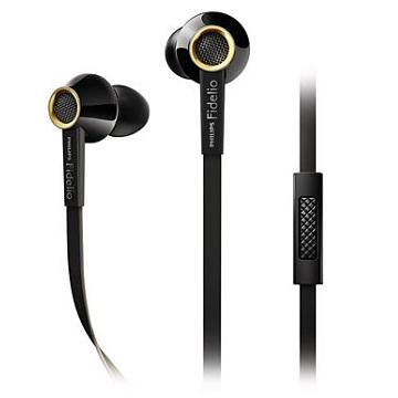 PHILIPS S2耳塞式耳機-黑