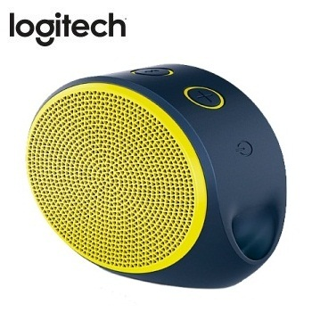 Logitech 藍牙揚聲器  X100(紫黃)