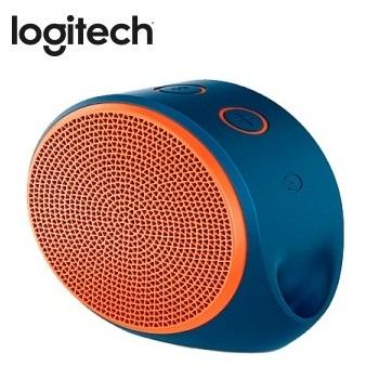 Logitech 藍牙揚聲器  X100(藍橘)