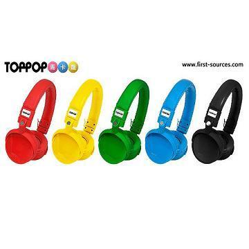 TOPPOP 馬卡龍立體聲耳罩式耳機 /(1支)