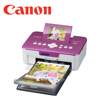 Canon SELPHY CP910 熱昇華印相機(粉紫)