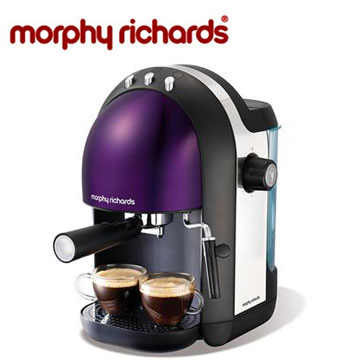 morphy richards 1.25L義式濃縮咖啡機(紫)