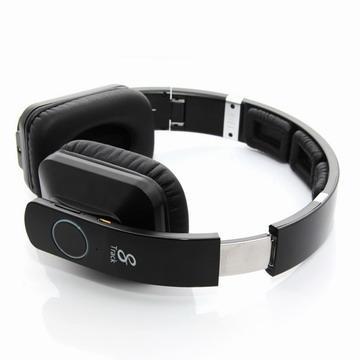 Bluedio R2藍牙4.0立體聲耳機-黑