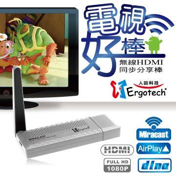 人因MD3056S無線HDMI同步分享棒