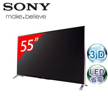 SONY 55型3D LED智慧型連網電視 KDL-55W950B