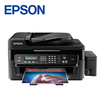 EPSON L555 Wifi傳真連續供墨複合機