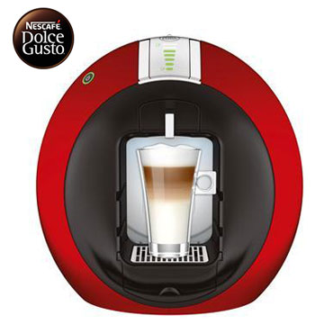 雀巢膠囊咖啡機-Circolo FS(星夜紅)