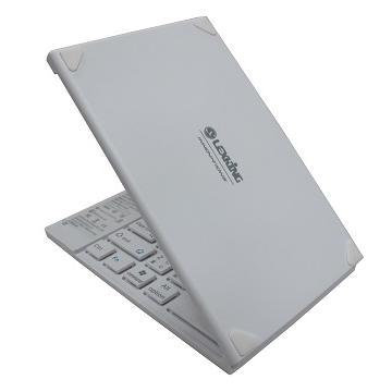 LEXKING手機平板專用藍牙3.0摺疊鍵盤-白