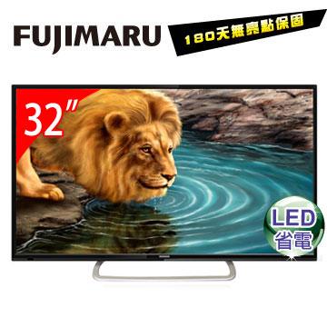 [福利品] Fujimaru 32型LED液晶顯示器+視訊盒  TK-32H6D6型