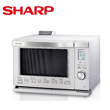 SHARP 26L HEALSIO水波爐(白)