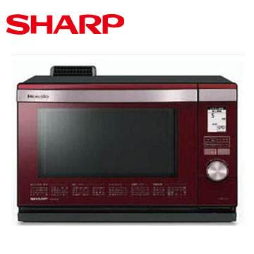 SHARP 26L HEALSIO水波爐(紅)