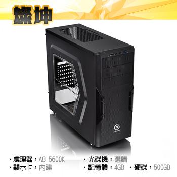 AMD 四核心平台 DIY電腦組
