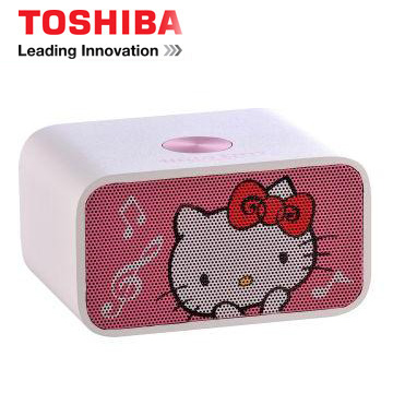 TOSHIBA Hello Kitty NFC/藍牙揚聲器 TY-WSP53KTTW