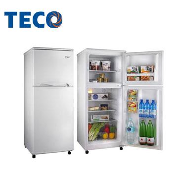 東元 130公升1級雙門冰箱