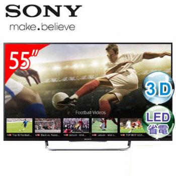 SONY 55型3D LED智慧型連網電視 KDL-55W800B
