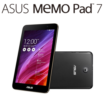 ASUS MeMO Pad ME176C 16G-WIFI 平板電腦 (黑)