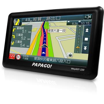 PAPAGO WayGO220 高效能衛星導航