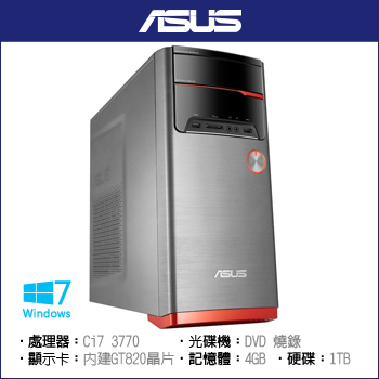 Asus M32AAG Ci7 1TB 四核電競
