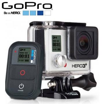 GoPro HERO3+運動攝影機-黑色旗艦版