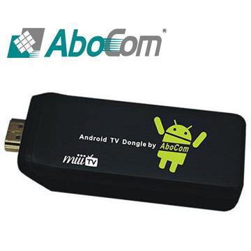 AboCom 雙核心影音智慧電視棒 A06S_MiiiTV