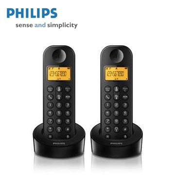 PHILIPS簡單生活數位無線電話(雙機)