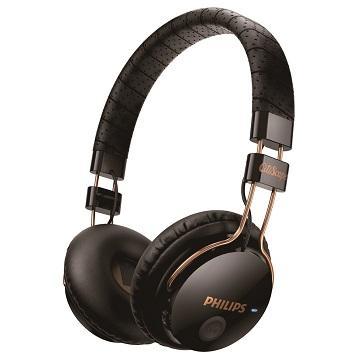 PHILIPS SHB8000頭戴式藍芽耳機-黑