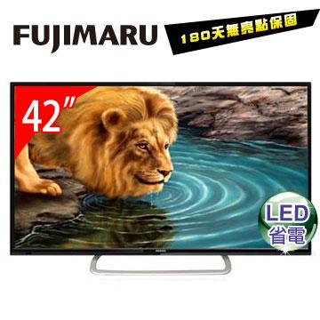 FUJIMARU 42型 LED液晶顯示器+視訊盒  TK-42H6D6