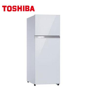 TOSHIBA 409公升雙門鏡面變頻冰箱