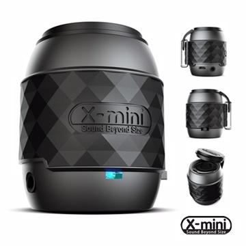 X-mini NFC/藍牙揚聲器  WE(質感黑)