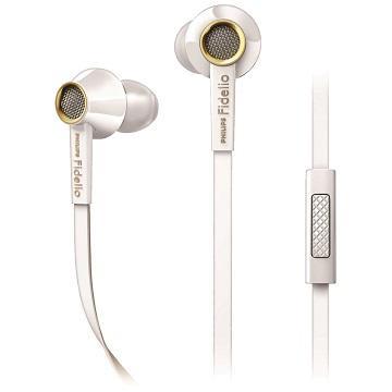 PHILIPS S2WT入耳式耳機-白