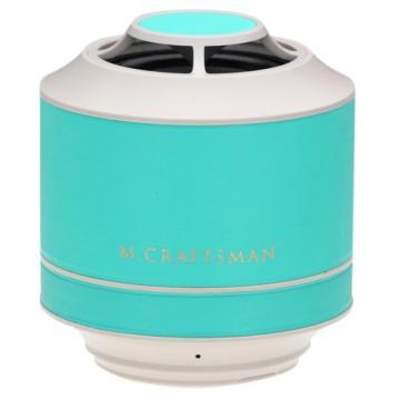 M.CRAFTSMAN Mini震撼揚聲器 (藍綠)