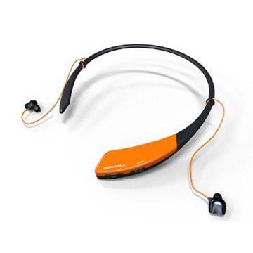 GDMALL 藍芽NFC無線配對運動耳機-黑橘