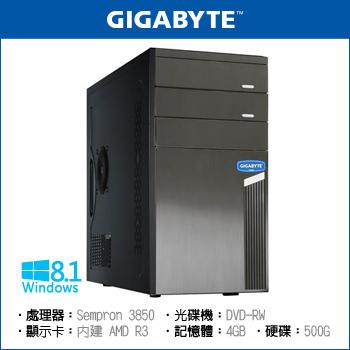 技嘉平台 500G 四核心