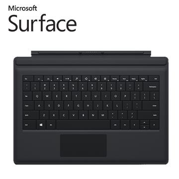 微軟Surface Pro 3 實體鍵盤 (黑)