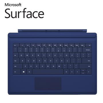 微軟Surface Pro 3 實體鍵盤 (藍)