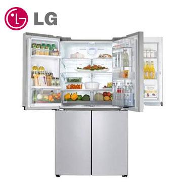 LG 870公升門中門對開冰箱