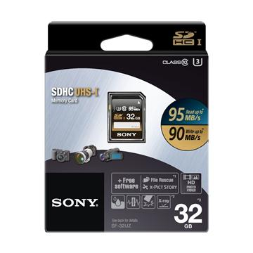 【U3】SONY SDHC 32G高速記憶卡