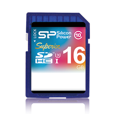 【U3】廣穎Superior SDHC 16G記憶卡