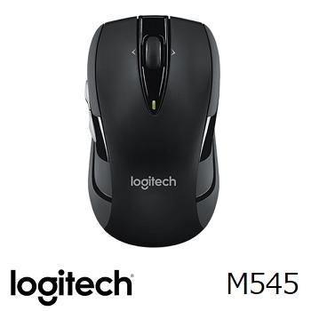 羅技 無線滑鼠 M545-黑