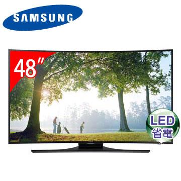 SAMSUNG 48型黃金曲面3D LED電視  UA48H6800AWXZW