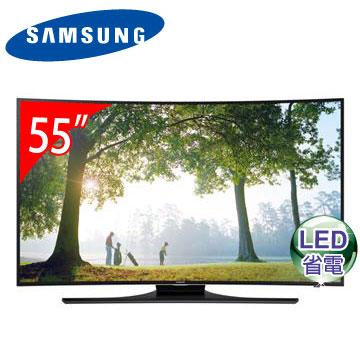 SAMSUNG 55型黃金曲面3D LED電視 UA55H6800AWXZW