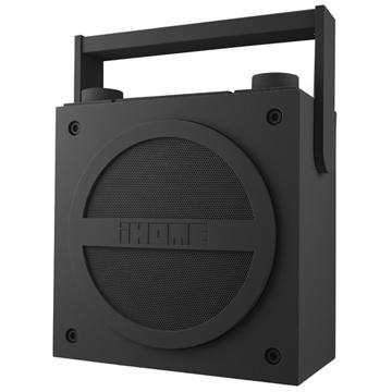 iHome 藍牙手提揚聲器  IHM-IBT4-G(灰)