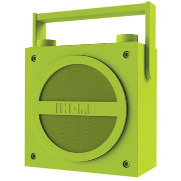 iHome 藍牙手提揚聲器 IHM-IBT4-GN(螢光綠)