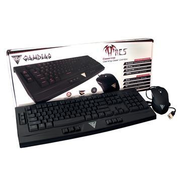 GAMDIAS ARES Lite星獵戰神3色入門鍵鼠組
