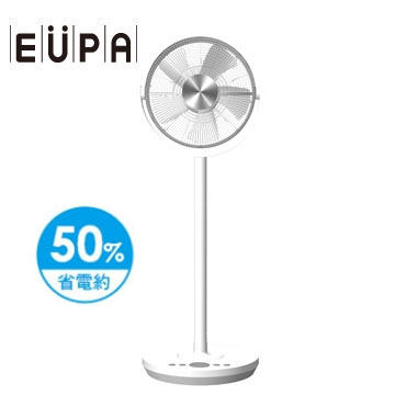 EUPA 12吋 DC節能遙控立扇