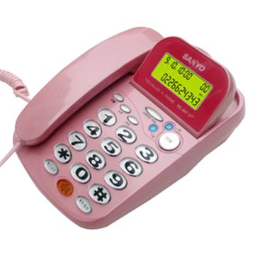 SANYO 來電顯示有線電話 TEL-807